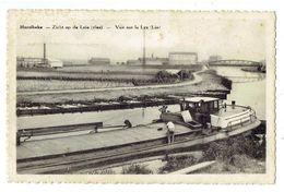 HARELBEKE - Zicht Op De Leie ( Vlas ) - Vue Sur La Lys ( Lin ) - Binnenschip - Péniche - Harelbeke