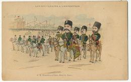 S.M. Mouzaffer-cd-Dine Shah De Perse Exposition Universelle Paris 1900 Signed T. Bianco Satirical - Iran
