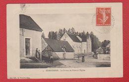 Essertenne  -  Le Bureau De Poste Et L Eglise - France