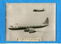 """AVION -AVRO TUDOR II- En Vol-quelques Instants  Avant Catastrophe De LANDLOW-grande Photo """"KEYSTONE"""" Presse - Aviation"""