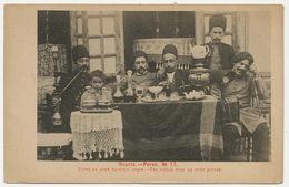 Perse No 17 . Les Visites Chez Un Riche Persan . Russian Card. Samovar  . Tea - Iran