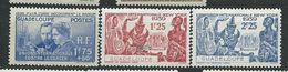 GUADELOUPE    N°  139/41  *   TB - Guadeloupe (1884-1947)