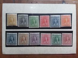 MONTENEGRO 1907 - Effigie Del Principe Nicola - Nn. 76/87 Nuovi ** + Spese Postali - Montenegro