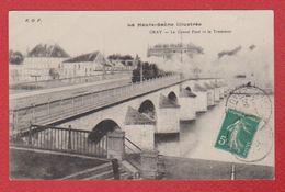 Gray  --  Le Grand Pont Et Le Tramway - Gray