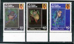 BRUNEI 1990** - Tarsius Bancanus - 3 Val. (MNH)  - Come Da Scansione - Brunei (1984-...)