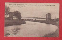 Environs De Jussey  --  Pont Suspendu à Cendrecourt - France