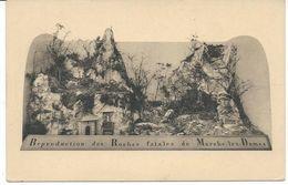 Reproduction Des Roches Fatales De   Marche-les-Dames - Andere