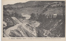 De Morez à Morbier 39 - Ligne De Chemin De Fer - Entrée Tunnel Des Frasses - Sin Clasificación