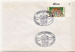 Postal History: Germany With Interesting Cancel - BRD
