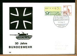DEUTSCHE - BUNDESWEHR - 1986  DIEZ - TANK PANZERDIVISION - [7] Repubblica Federale