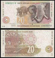 South Africa 20 RAND Sign 8 ND 1999 P 124b UNC  (Zuid-Afrika, Sudafrica, Afrique Du Sud) - Afrique Du Sud