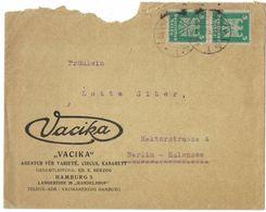 XA189   Germany Reich Hamburg 1925 - VACIKA Agentur Fur Varietè, Circus, Kabarett - Brieven En Documenten