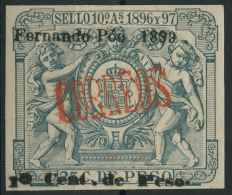 Fernando Poo (1899) N 58 (charniere) - Equatorial Guinea