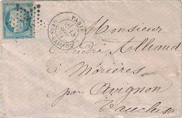PARIS - GROS-CAILLOU - ETOILE 27 SUR N°60 - ENVELOPPE SANS TEXTE DU 15 SEPTEMBRE 1871 - INDICE14 - Marcophilie (Lettres)