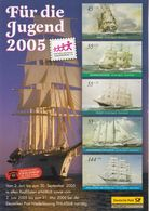 Germany Ships Stamps Reproduction On Card - Stamps (pictures)