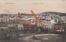 OVERYSSCHE - Vue Générale Du Village - Carte Colorée Et Circulée En 1911 - Overijse