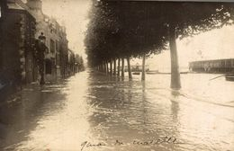 CPSM Inondation Des Quais Orléans - Orleans