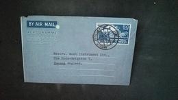 (Free Shipping*)  USED Aerogram - Pakistan