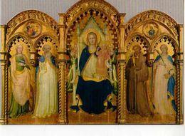 PRATO Galleria Di Palazzo Pretorio Lorenzo Monaco, Triptyque XV°s - Prato