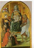 PRATO Galleria Di Palazzo Pretorio Filippo,Lippin Madonna Del Ceppo XV°s, Vierge Enfant - Prato