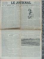 LE JOURNAL (13/5/1913) Les Jeux Floraux - Les Suffragettes - Barthou - Altri