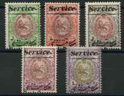 Iran (1913) Service N 27 A 30 + 32 (Luxe) - Iran