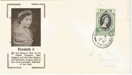 6Mm-928 : VIRGIN ISLANDS  2 Cents Elizabeth II ROAD TOWN TORTOLA JU 2 53 - Stamps