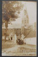 Machelen - Photo-carte - 1919 - Kerk - Eglise Endommagée - 1914-1918 - Photo A. Christiaens-Dhondt - Thielt - Machelen