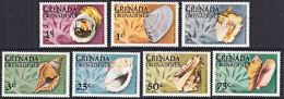 A5242 GRENADA GRENADINES 1976,  SG 139-45  Shells,  MNH - Grenada (1974-...)