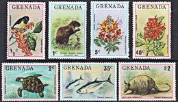B0379 GRENADA 1976,  SG 769-75  Flora And Fauna (plants And Animals)  MNH - Grenada (1974-...)
