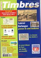 Timbres Magazine 2012 N°133  : Moresnet +aden+ Blason De Paris - Tijdschriften