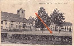 GOEGNIES-CHAUSSEE - Eglise Et Place Française - Quévy