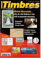 Timbres Magazine 2016 N°176 : Nouvelle Calédonie 1915-17+valenciennes 1914-18 - Tijdschriften
