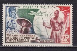 St Pierre Et Mqn  PA N°21* - Neufs