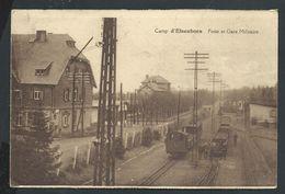 +++ CPA - Camp D'ELSENBORN - Poste Et Gare Militaire - Train Trein  // - Bütgenbach