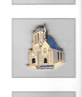 Pin's  Ville  LOCRONAN, Monument  Eglise  ( 29 ) - Villes