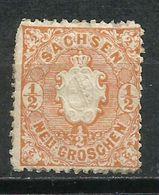Alemania. Saxe.1863-67. Escudo. - Sachsen