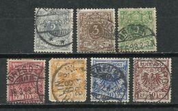 Alemania. Imperio. 1889-00. Águila Y Cifras. - Alemania