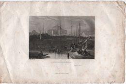 Gravure Ancienne/CONSTANTINOPLE/ Robert  De Paris/ Schaeder Sct/ Furne Paris/ Mi-XIXème Siècle    GRAV305 - Prints & Engravings