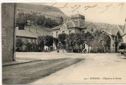 88  BUSSANG    L'église Et La Mairie - Bussang