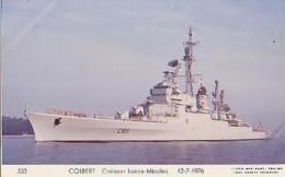 Croiseur             53         Croiseur Lance Missiles Colbert - Guerra