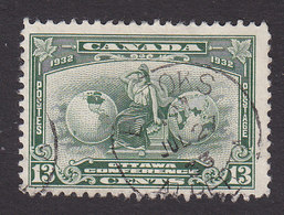 Canada, Scott #194, Used, Allegory Of British Empire, Issued 1932 - 1911-1935 Reign Of George V