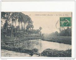 CERISY LA FORET LA VALLEE DE L'ELLE CPA BON ETAT - France