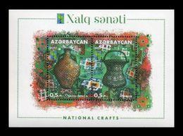 Azerbaïjan 2017 Mih. 1227/28 (Bl.174) National Crafts. Jugs (RCC Joint Issue) MNH ** - Azerbaïjan