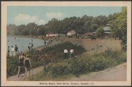 Bathing Beach, Port Dover, Ontario, C.1930s - Photogelatine Engraving Co Postcard - Other