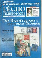 L' ECHO DE LA TIMBROLOGIE  N° 1799 + SCANN SOMMAIRE - Tijdschriften