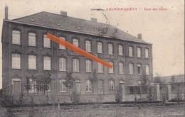 """AULNOIS-QUEVY - Cour Des Elèves - """"Pensionnat Français De La Sainte Union"""" - Quévy"""