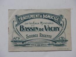 Carnet De Traitement à Domicile Des Eaux Naturelle De Saint-Yorre Vichy (Allier). - Old Paper