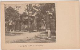 Cpa,harward University,université Americaine à Cambridge,fondée En 1636,40 Prix Nobel,rare,états Unis D'amérique - Etats-Unis