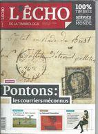 L' ECHO DE LA TIMBROLOGIE  N° 1881 + SCANN SOMMAIRE - Tijdschriften